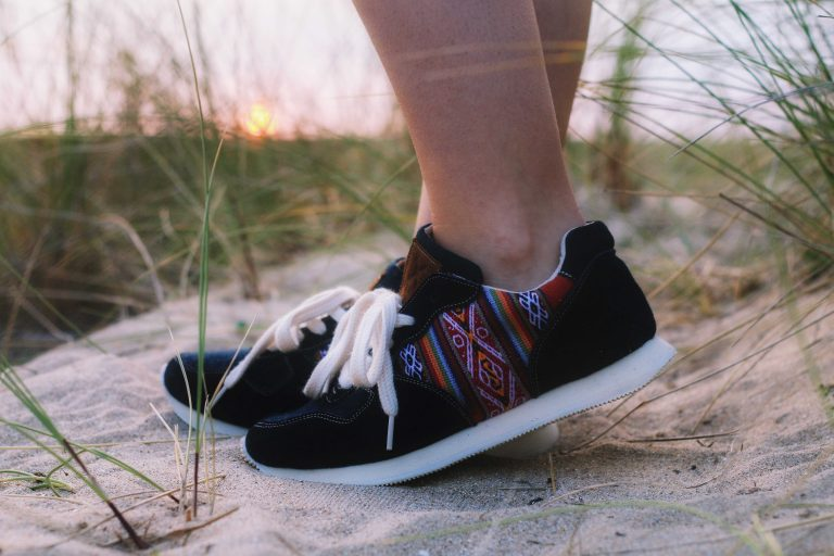 Shopping solidaire avec mes sneakers Perús