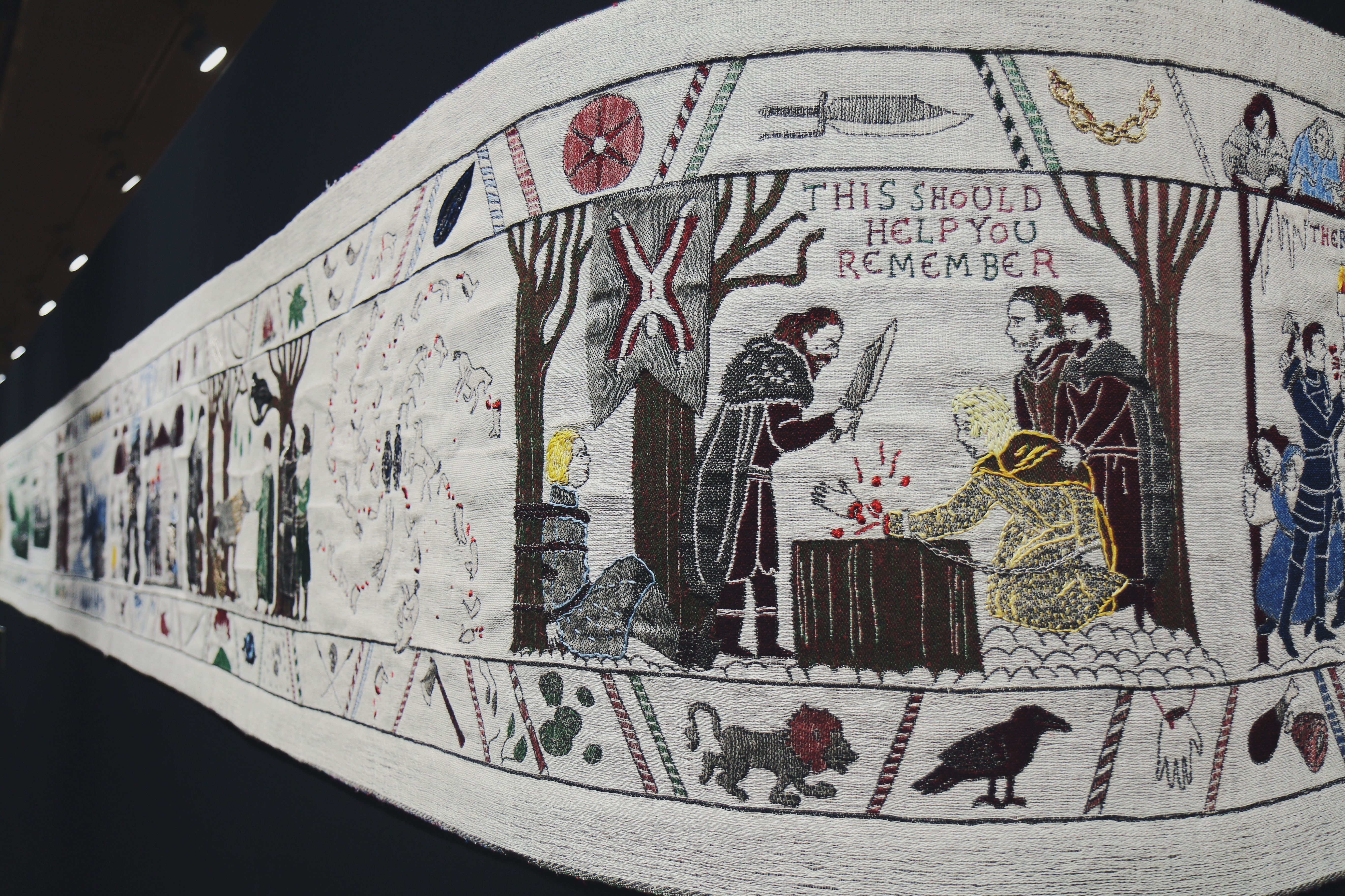 Tapisserie Game of Thrones à Bayeux