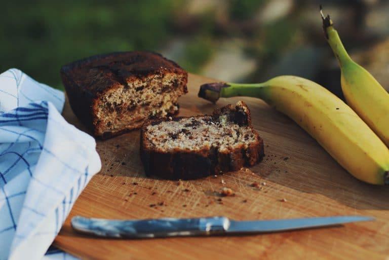 Cake fondant banane chocolat