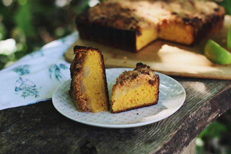 Crumb cake à la patate douce