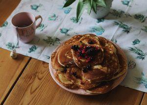 Des pancakes pour une petit-déjeuner gourmand