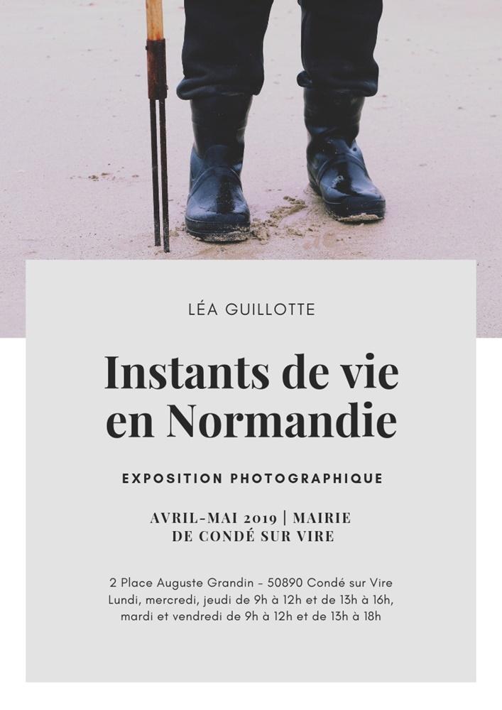 Affiche Instants de vie en Normandie