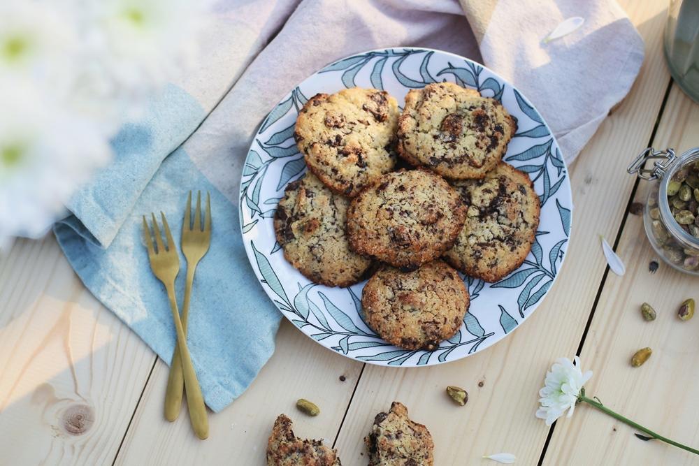 Cookies chocolat pistache